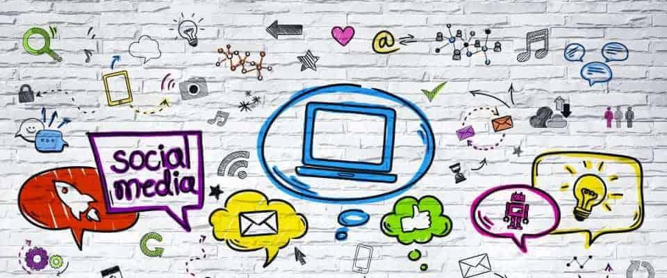 start met social media wanneer je je eigen online bedrijf wilt starten