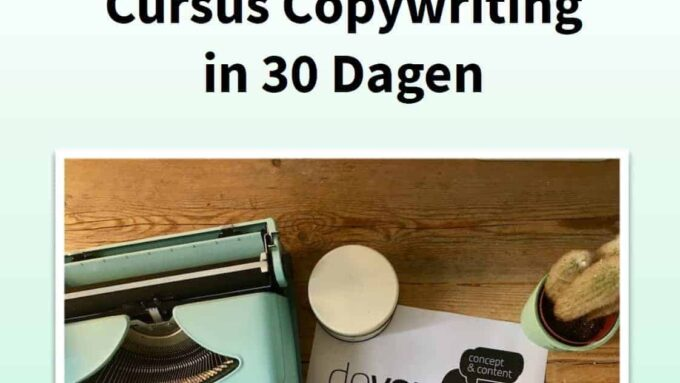 Doyoucopy - Copywriting in 30 Dagen cursus review