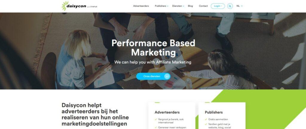 Daisycon affiliate netwerk