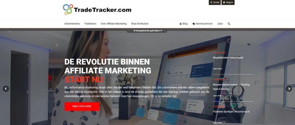 TradeTracker affiliate netwerk