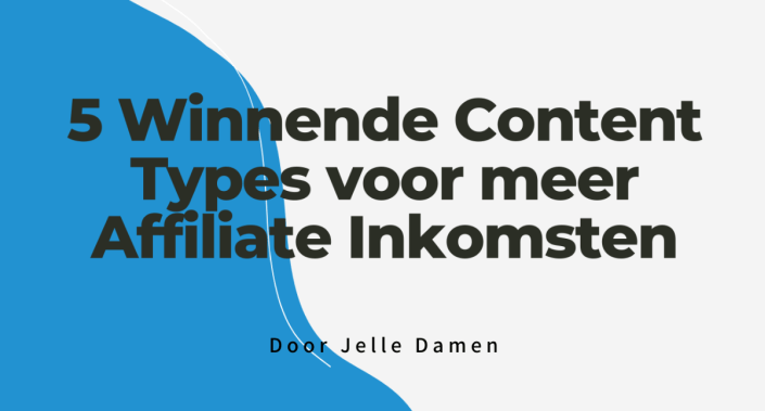 5 winnende content types